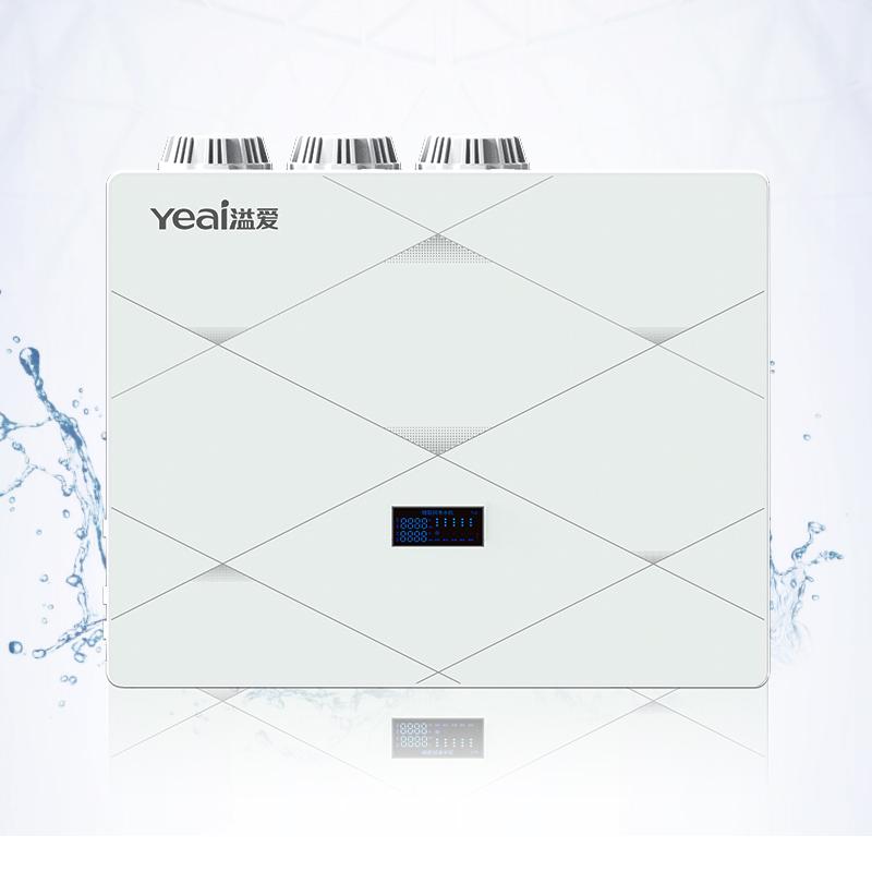 溢爱(yeai) 净水器 厨下式 智能物联网净水机 YE-RO-1802